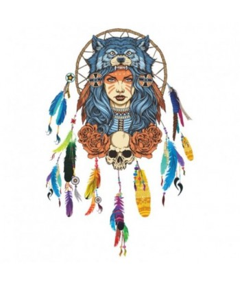 Sticker attrape rêves Tribal